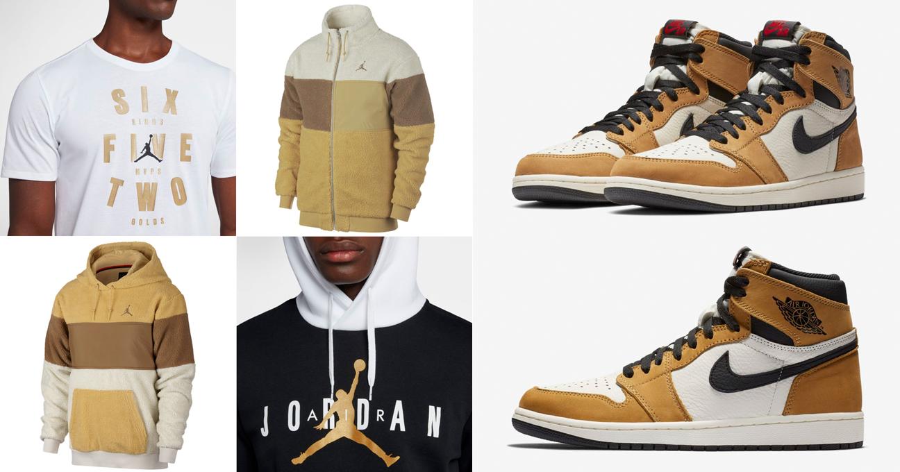 88ec0ee49c241d Air Jordan 1 Rookie of the Year Clothing | SneakerFits.com