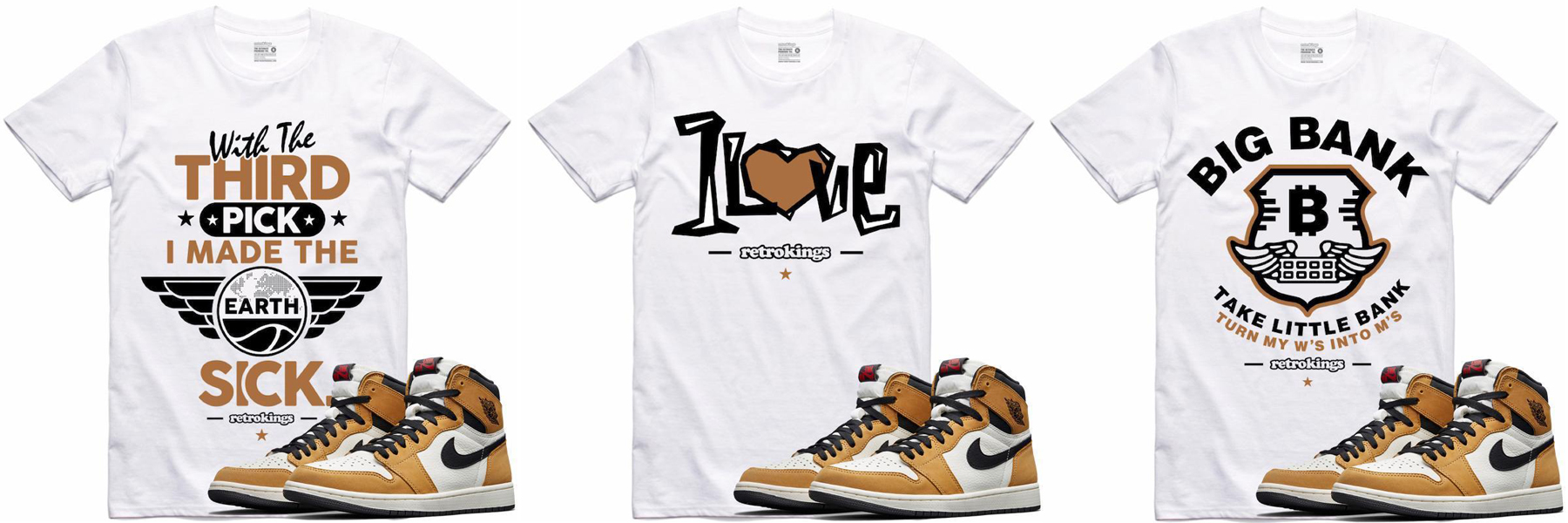 ef95d970369 Jordan 1 Rookie of the Year Sneaker Tees | SneakerFits.com