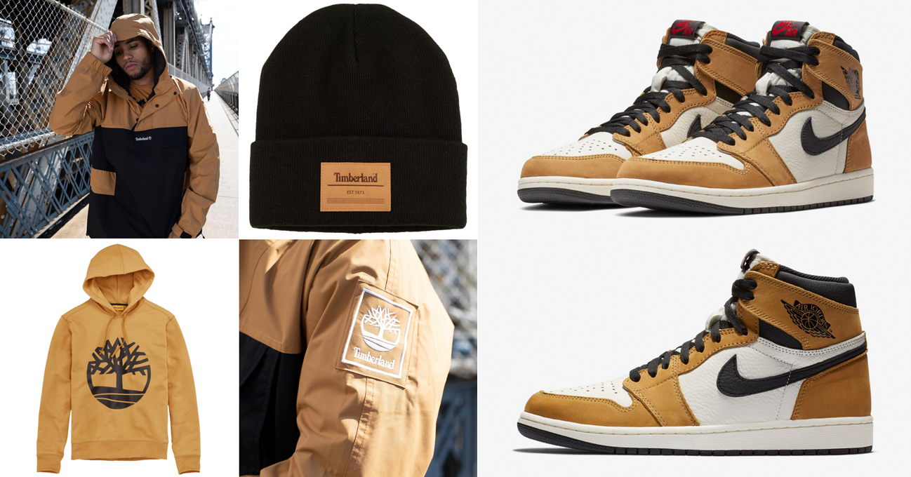 c588032f432 Jordan 1 Rookie of the Year x Timberland Clothing to Match ...