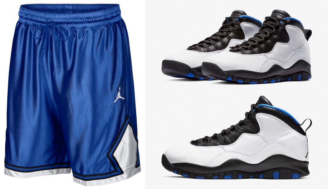 sports shoes 01d21 9fa95 Air Jordan 10 Orlando Shorts | SneakerFits.com