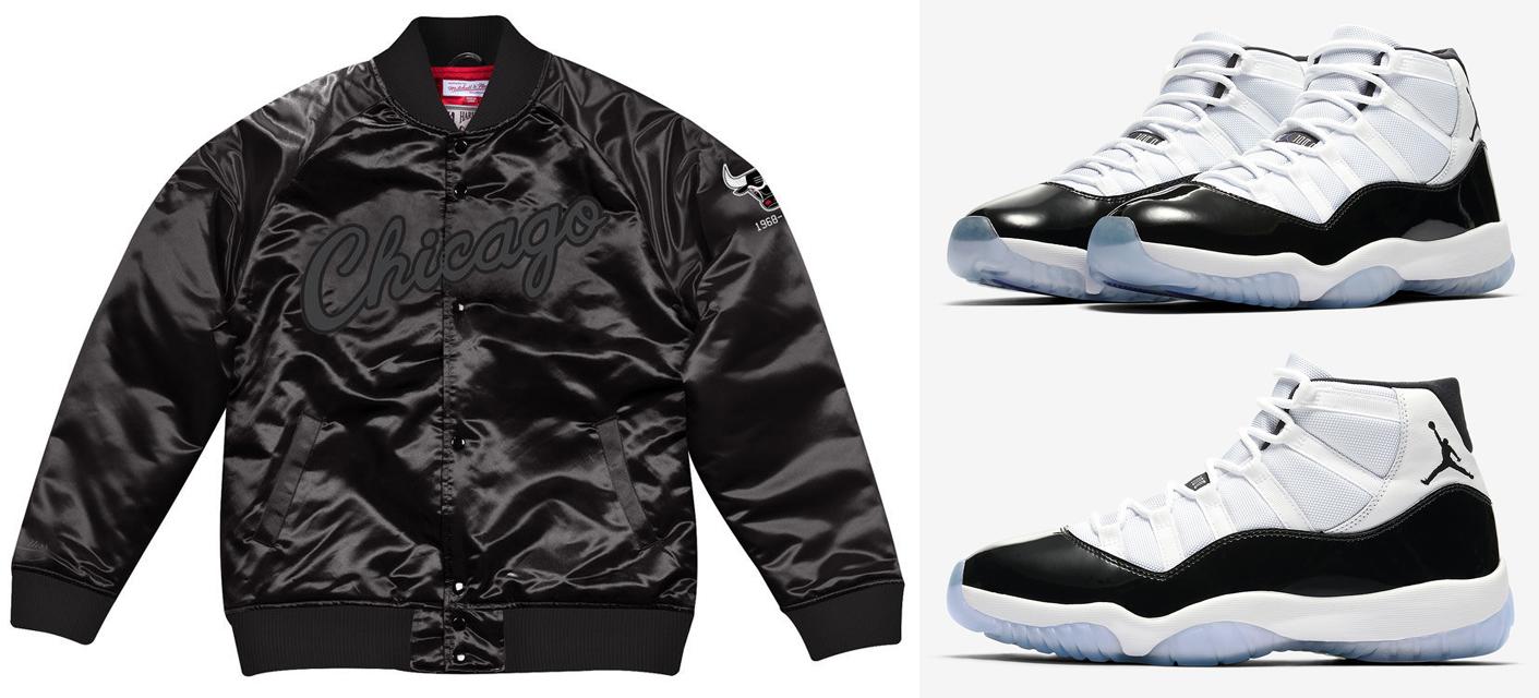 49fe4c741c803b Air Jordan 11 Concord NBA Jackets to Match