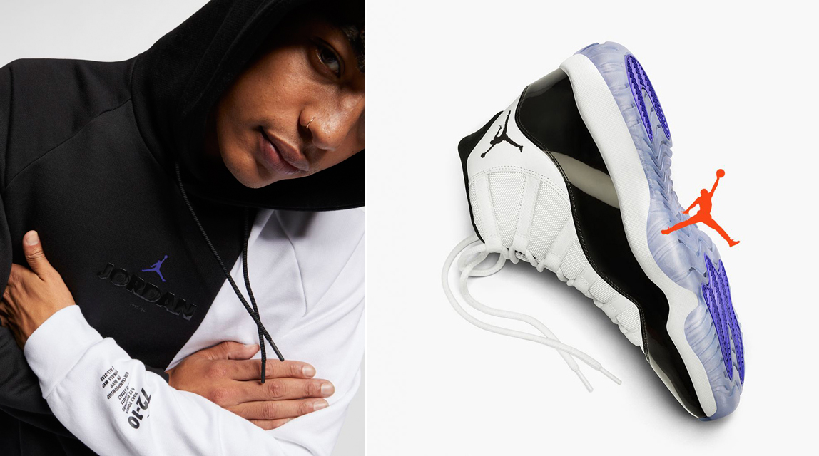 more photos e3245 2da81 air-jordan-11-concord-2018-hoodie