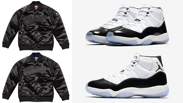 517e71a2484 Air Jordan 11 Concord NBA Jackets to Match   SneakerFits.com