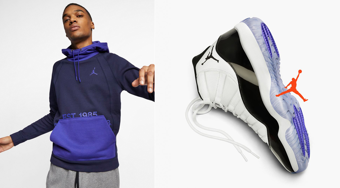 23333421ee0c Air Jordan 11 Concord Clothing Shirts Hats and Gear