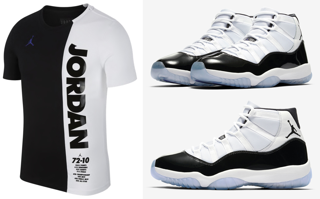 06d6670bc386ae Air Jordan 11 Concord Shirts to Match