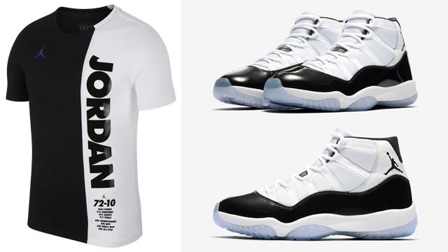 Air Jordan 11 Concord Shirts to Match