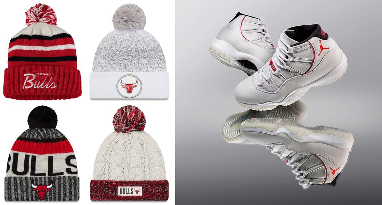 air-jordan-11-platinum-tint-bulls-knit-hat-beanies-to-match