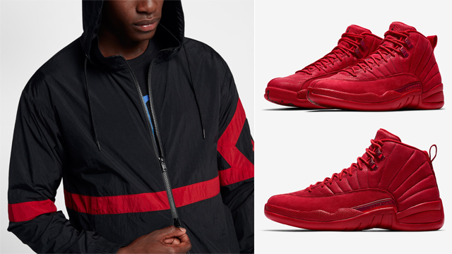 air-jordan-12-gym-red-jacket-match