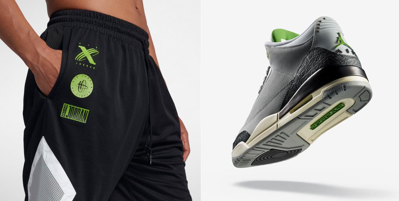 air-jordan-3-chlorophyll-tinker-shorts