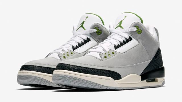 "9489d70607fb Air Jordan 3 ""Chlorophyll"" Release Info (Where to Buy"