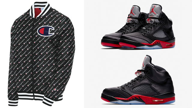 air-jordan-5-satin-bred-champion-jacket