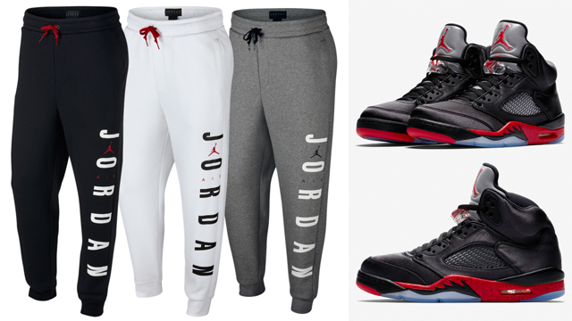 air-jordan-5-satin-bred-jogger-pants-match