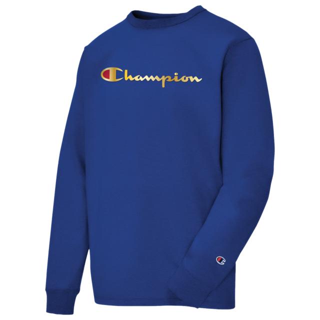 champion-timberland-grey-boot-crew-sweatshirt-blue