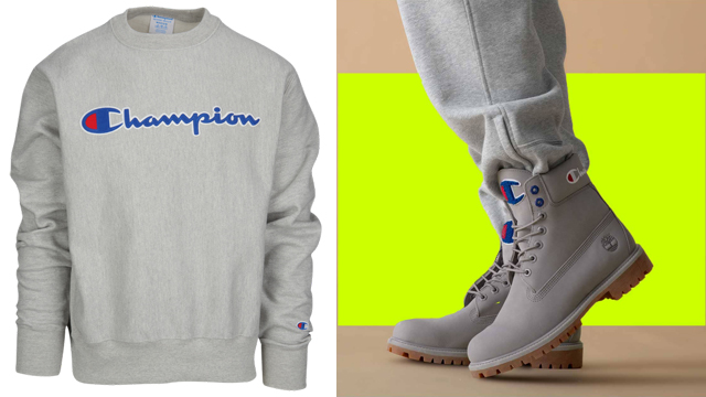 champion-timberland-grey-boot-crew-sweatshirts