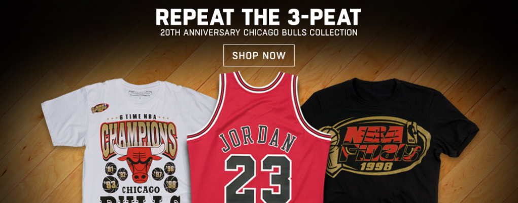 chicago-bulls-20th-anniversary-3-peat-6-time-champ-clothing