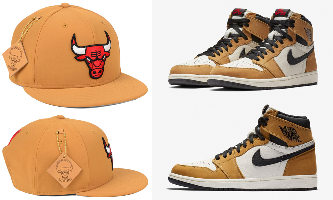 jordan-1-rookie-of-the-year-bulls-hat-match