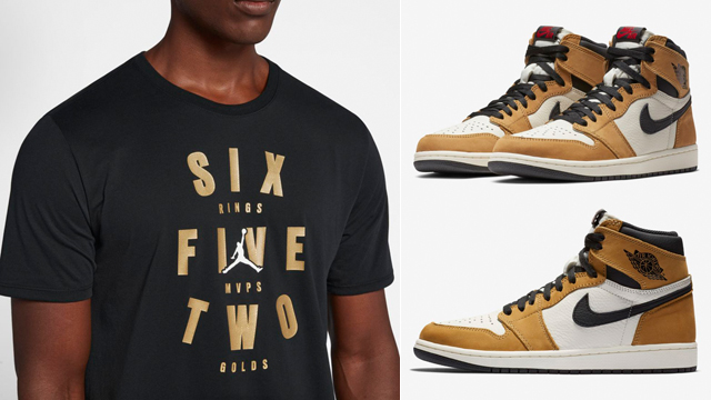 "0e987b57d41 Along with the release of the Air Jordan 1 ""Rookie of the Year"" sneakers  comes a look at all of the best Jordan Brand T-Shirts to match the shoes."