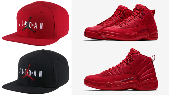 jordan-12-gym-red-caps