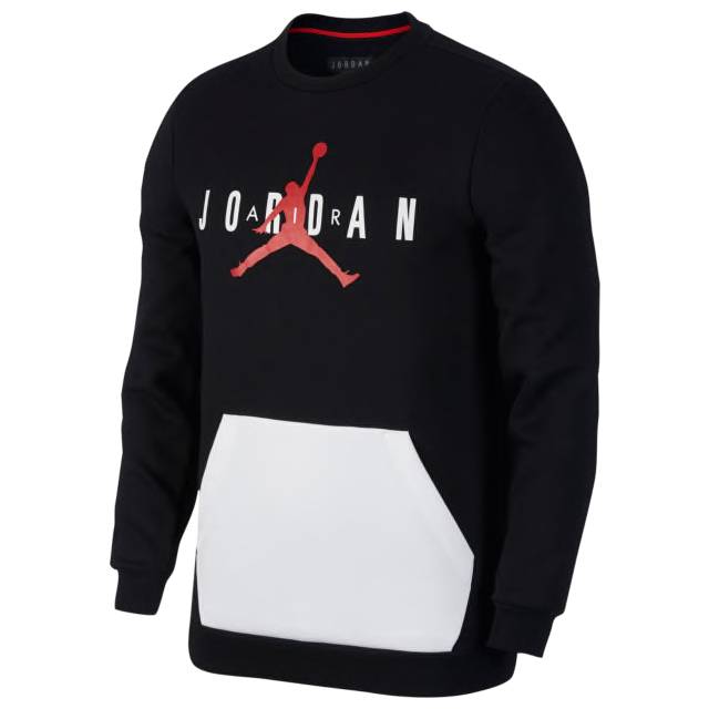 jordan-12-gym-red-sweatshirt-match