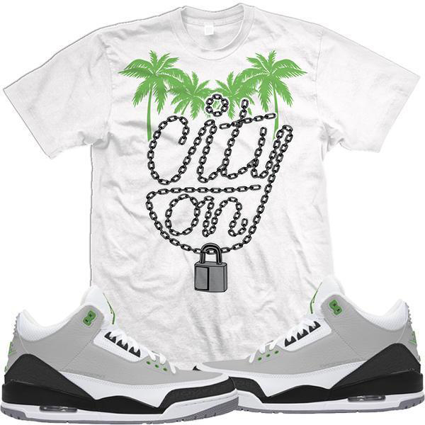 jordan-3-chlorophyll-sneaker-match-tee-shirt-1