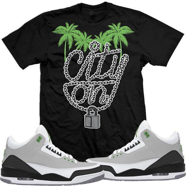 jordan-3-chlorophyll-sneaker-match-tee-shirt-2