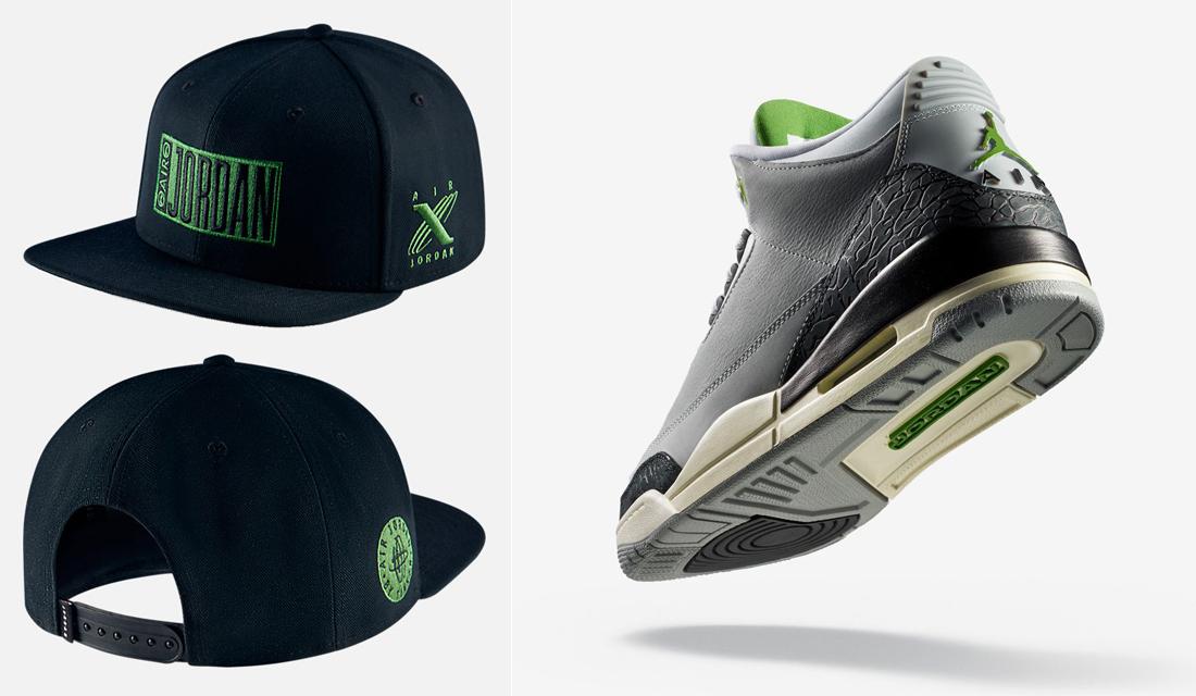 huge discount 62124 f035c jordan-3-chlorophyll-tinker-hat