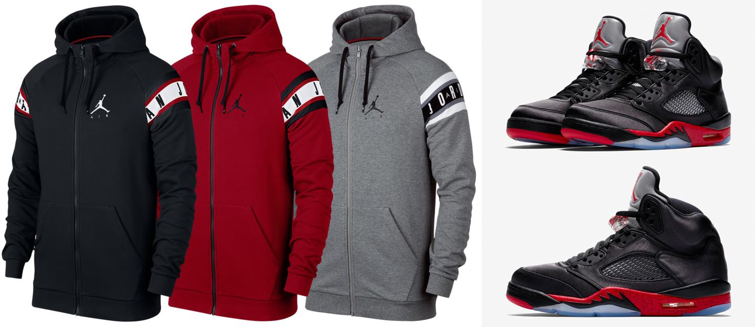 jordan-5-bred-satin-hoodie-match