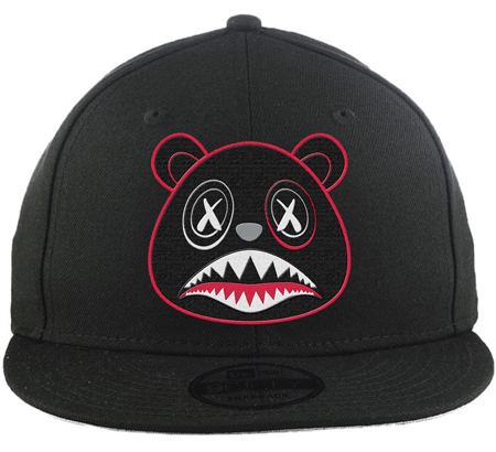 jordan-5-satin-bred-snapback-hat-match-baws-clothing