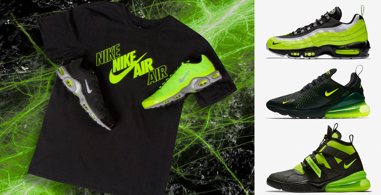 size 40 8d3af b750a Nike Air Max 95 Volt Glow Shirts to Match | SneakerFits.com