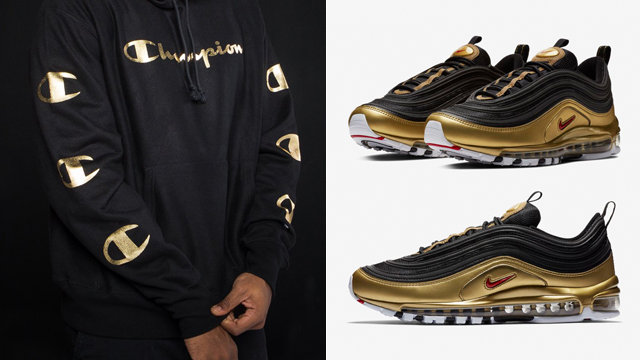 air max metallic gold