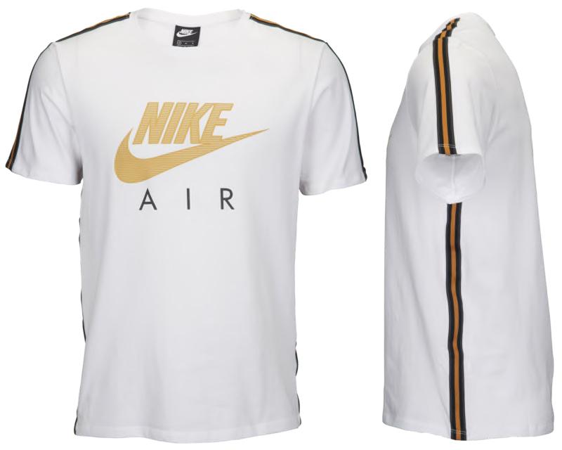 nike gold t shirt