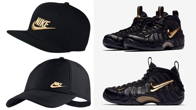 nike-foamposite-pro-black-gold-caps