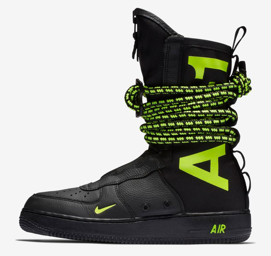 nike-sf-air-force-1-high-boot-black-volt-release-date