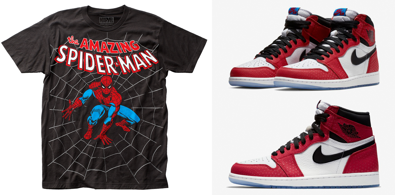 air-jordan-1-origin-story-spiderman-sneaker-tee-shirts