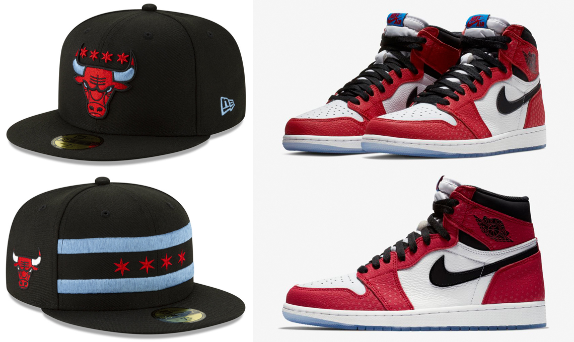 air-jordan-1-origin-story-spiderman-spider-verse-bulls-hats
