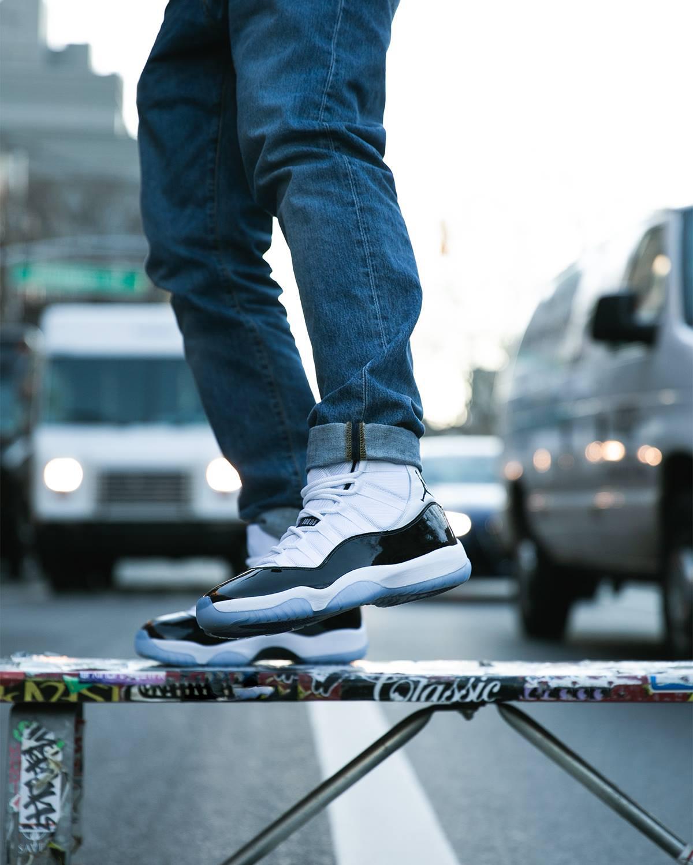 Air Jordan 11 Concord 2018 On Feet