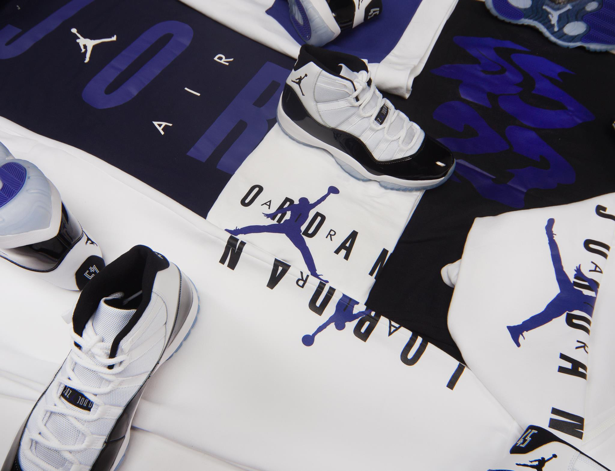 7b0b804052f Air Jordan 11 Concord Clothing Collection