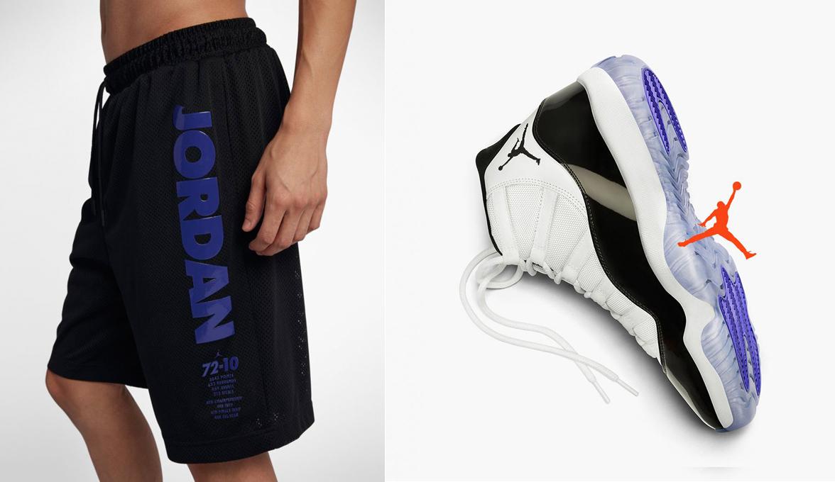 more photos 921d1 77654 Air Jordan 11 Concord Shorts | SneakerFits.com