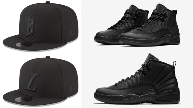 air-jordan-12-triple-black-winterized-nba-caps