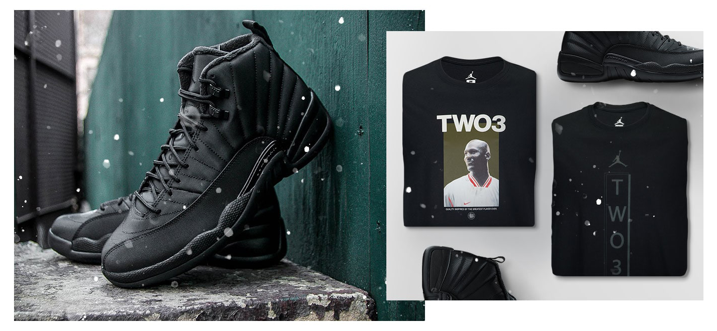 new products cb6da 600a1 Air Jordan 12 Winterized Shirts Hoodie | SneakerFits.com