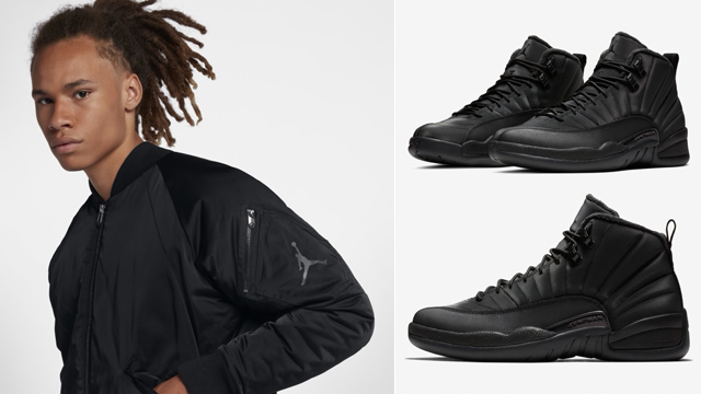 air-jordan-12-winterized-black-jacket