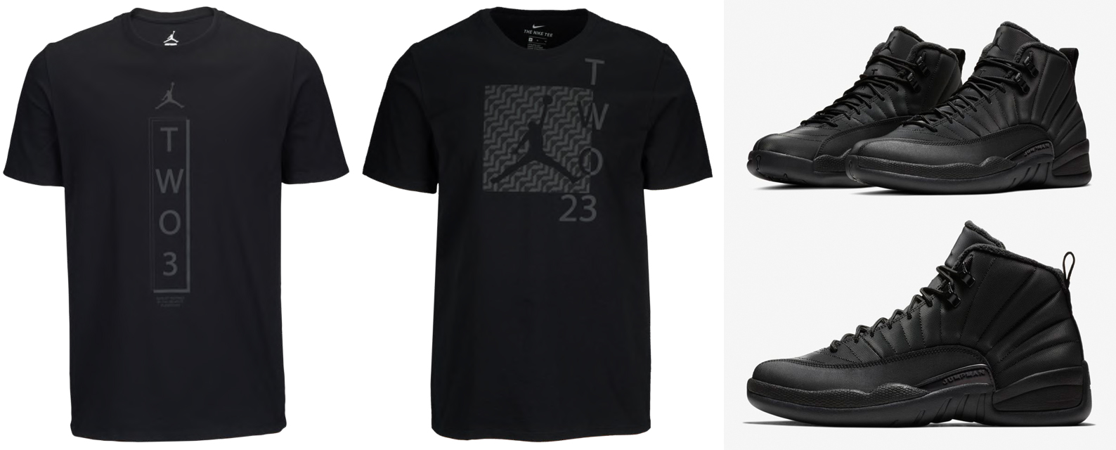 promo code be6a6 1fb0d Air Jordan 12 Winterized Sneaker Tee Shirts | SneakerFits.com