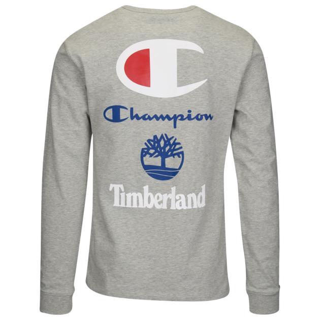 champion-timberland-long-sleeve-tee-shirt-grey-2