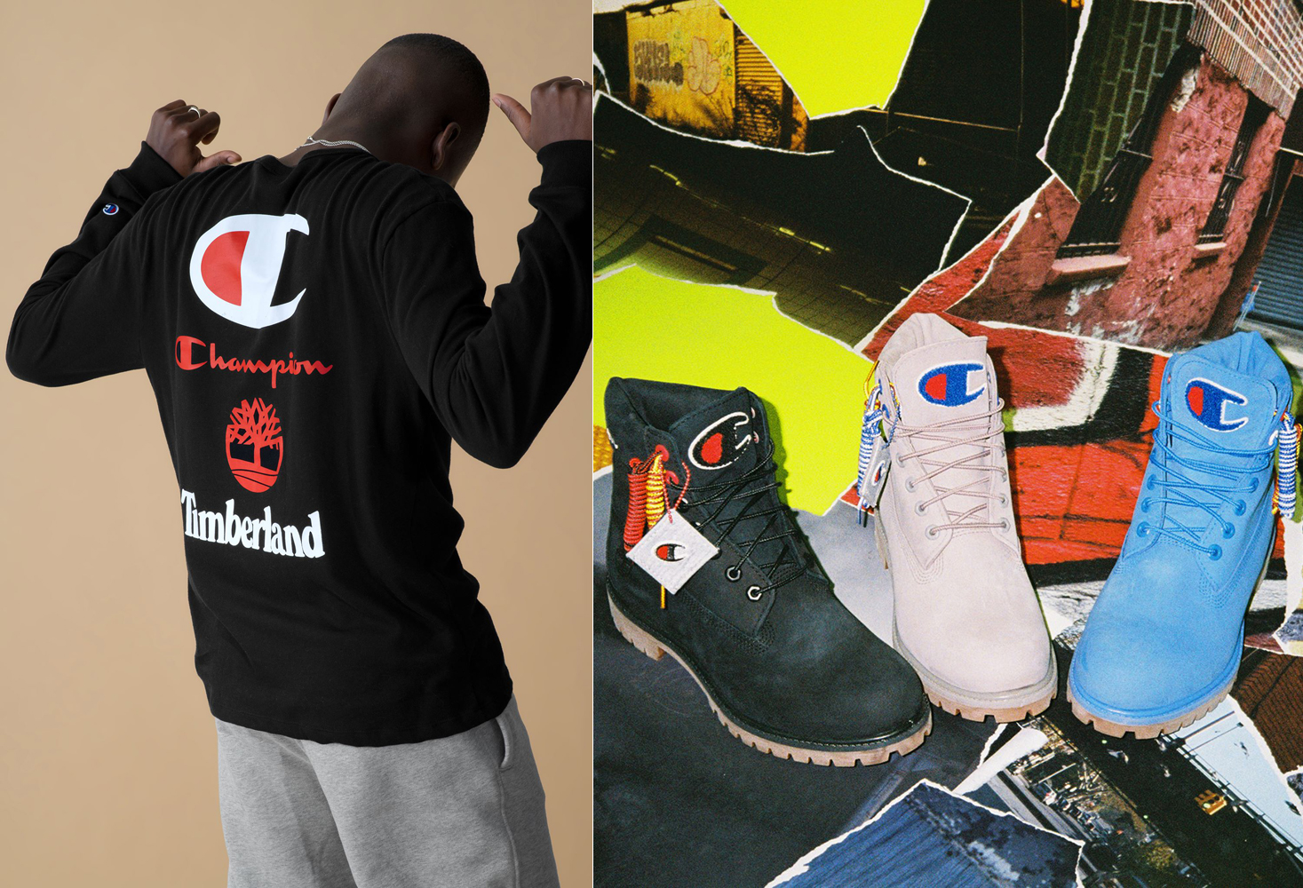 low priced discount shop sale online Champion Timberland Boots and Tee Shirts | SneakerFits.com