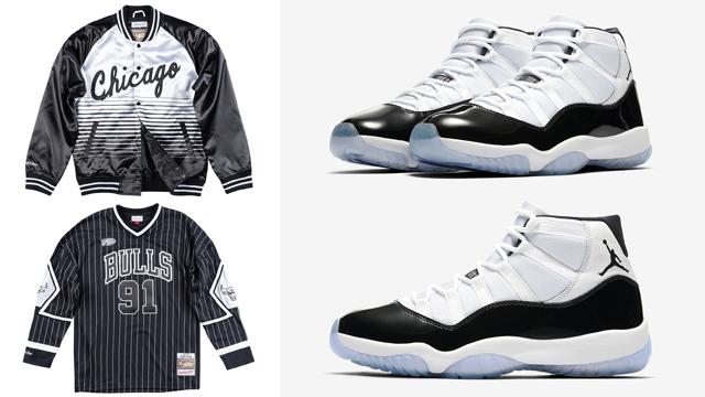 "2ff4b3e8f Air Jordan 11 ""Concord"" x Mitchell   Ness NBA Concord Collection (Jacket"