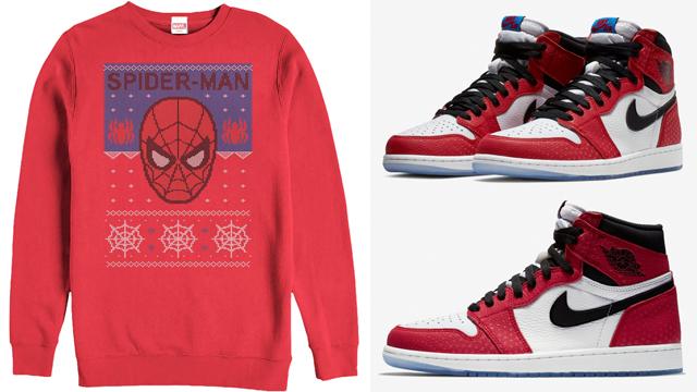 jordan-1-origin-story-spiderman-christmas-shirt
