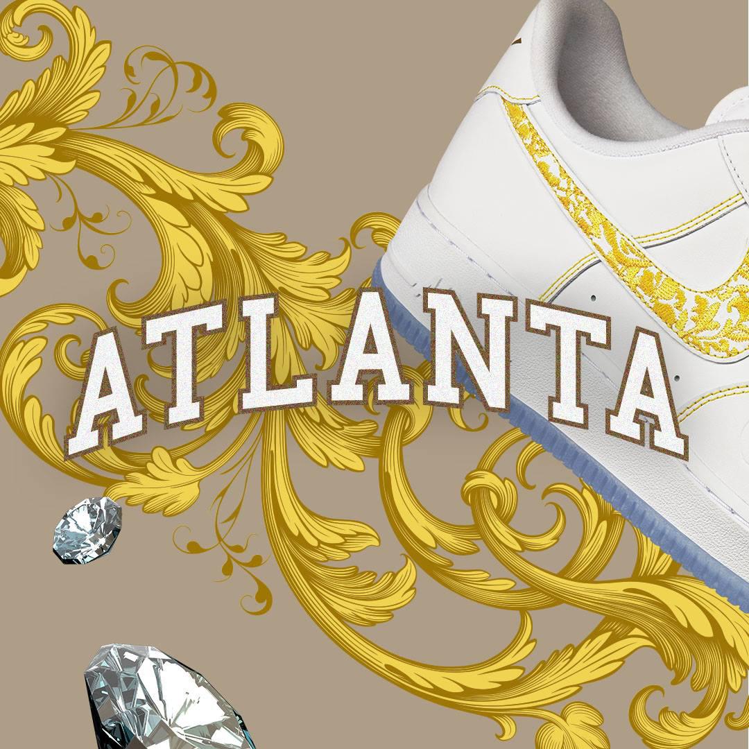 "hot sale online 77644 b4ed9 Nike Air Force 1 LV8 ""Atlanta Home"""