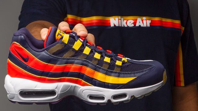 5bbd0f9335 Nike Air Max 95 Houston Away Shirt Match | SneakerFits.com