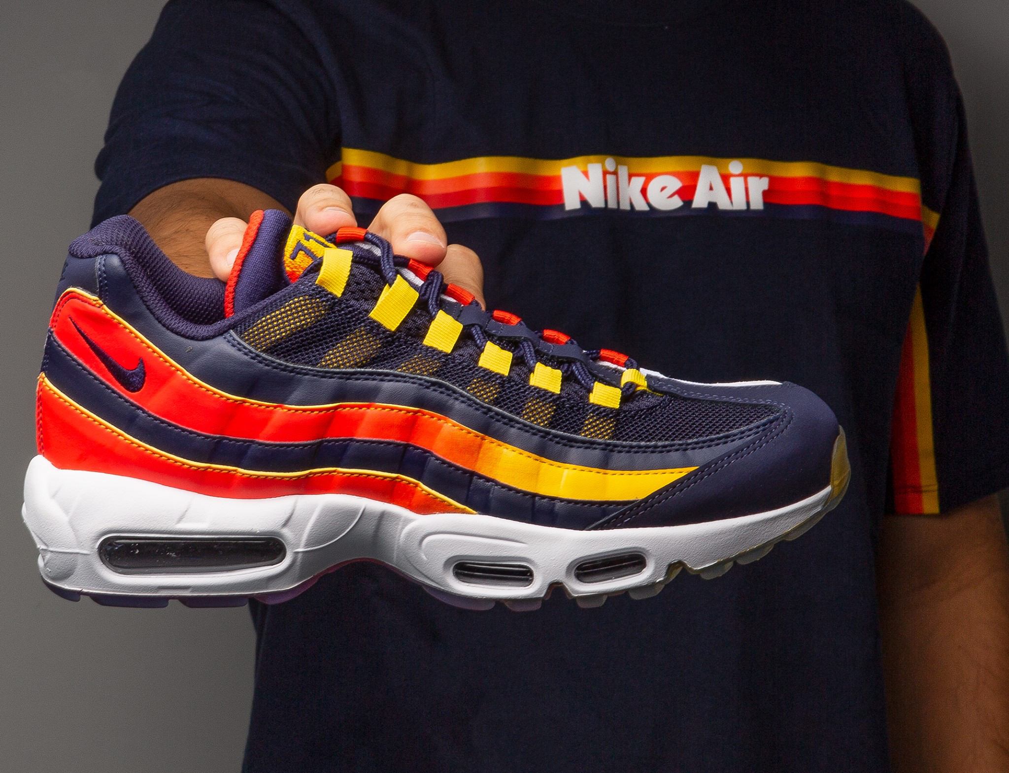 cute classic styles various design Nike Air Max 95 Houston Away Shirt Match | SneakerFits.com