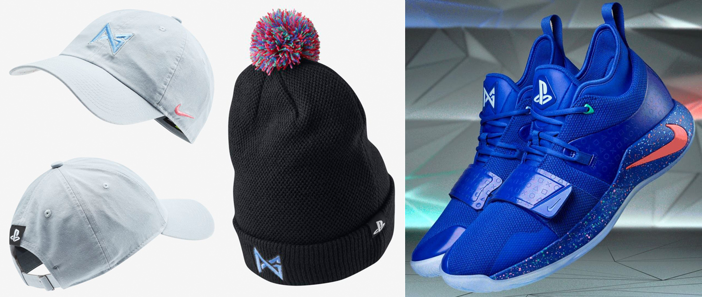 f01df84a70a1 Nike PG 2.5 Playstation Royal Hats